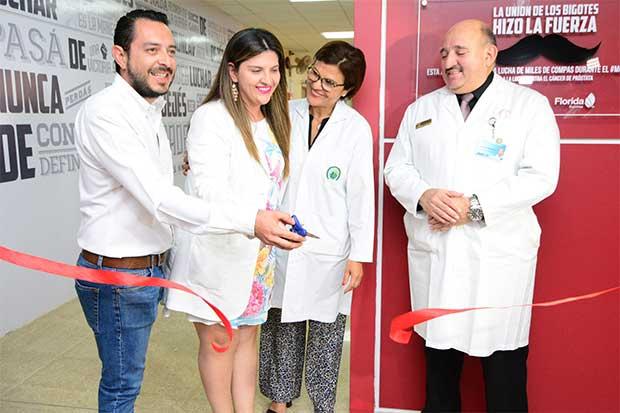 Campaña de Pilsen remodela sala de espera de Oncología del Hospital México