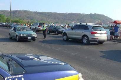 Controles de tránsito en Palmares serán las 24 horas