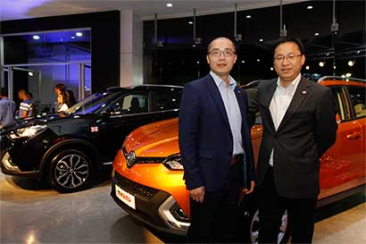 MG inaugura su showroom