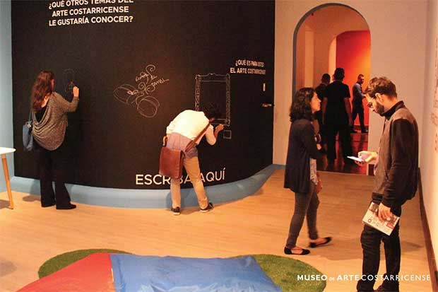 Museo de Arte Costarricense abrió sala interactiva