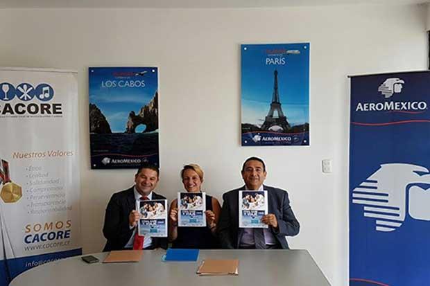 Aeroméxico presenta campaña que regalará tiquetes aéreos
