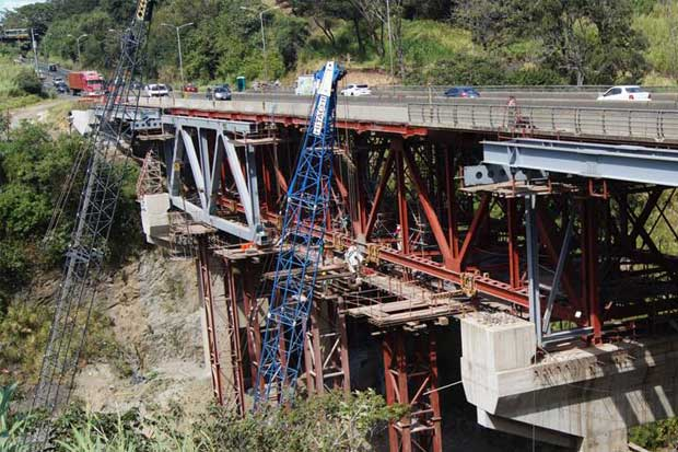 """Puente de la """"platina"""" permanecerá cerrado más de un mes"""