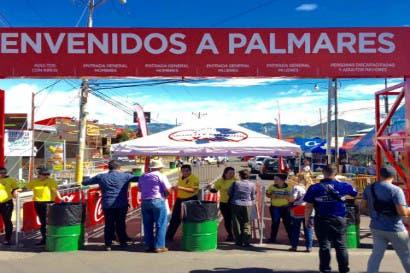 Fuerza Pública destinará 300 policías para las fiestas de Palmares