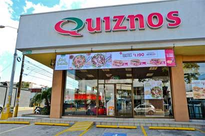 Quiznos abre su segundo restaurante en Guanacaste