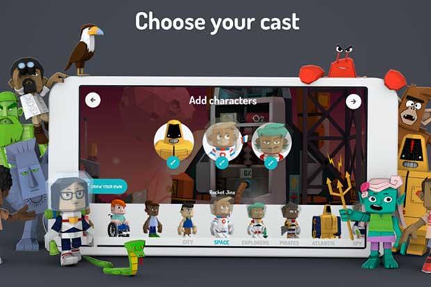 Google lanza app 3D para que niños creen sus propios cuentos