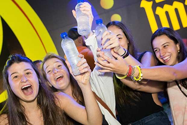 Empresas promueven consumo inteligente en Fiestas de Palmares