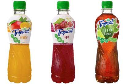 Tropical renueva sus envases
