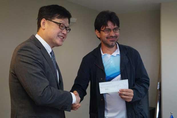 Japón donó ¢46 millones para construcción de tanques de agua potable