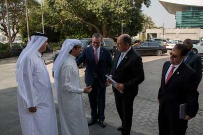 Autoridades de Emiratos Árabes visitarán el país para analizar proyectos de inversión