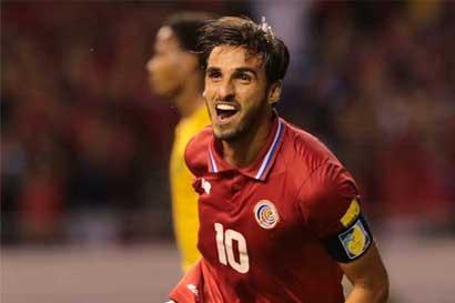 Bryan Ruiz, seleccionado como mejor jugador de la Concacaf