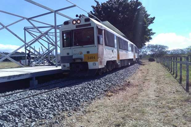 Tren tendrá nueva estación provisional tras cierre de la platina
