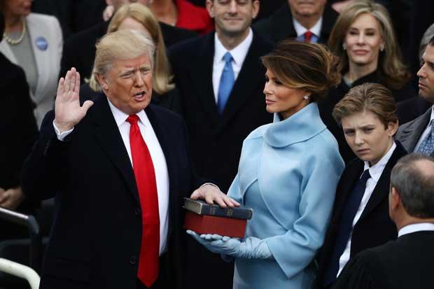 Donald Trump se convierte en el 45° presidente de EE.UU.