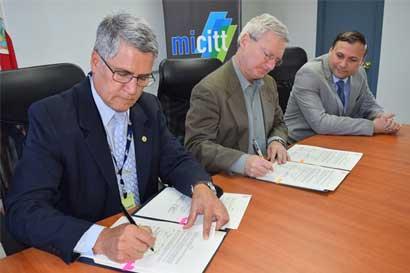 Gobierno firma memorando con institución alemana para fomentar investigación
