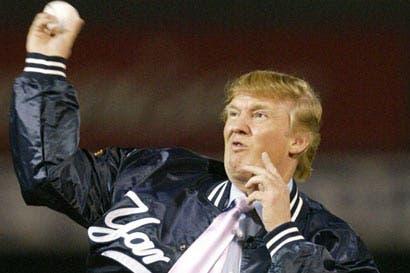 Trump fue enorme atleta