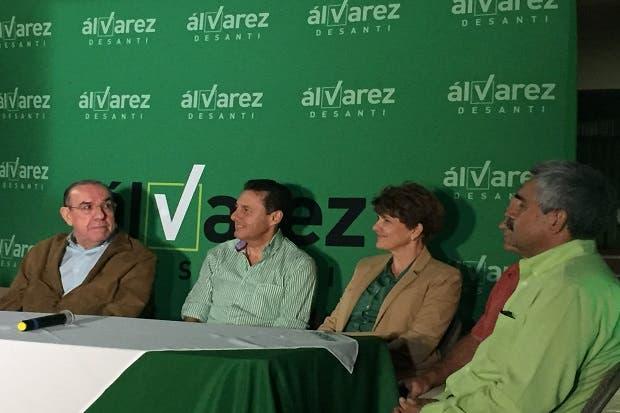 Rodrigo Arias dio su adhesión a Antonio Álvarez