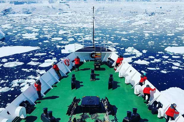 Programa ambiental abrió inscripciones de mujeres para expedición a la Antártida