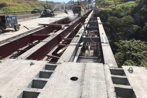 Obras en puente de la platina van de acuerdo con el cronograma