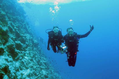 Viviendo el sueño del buceo submarino en Cuba