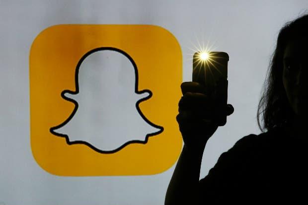 Snapchat muestra sus mejores datos para su foto del debut