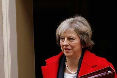 Theresa May enfrenta rebelión de legisladores por el Brexit