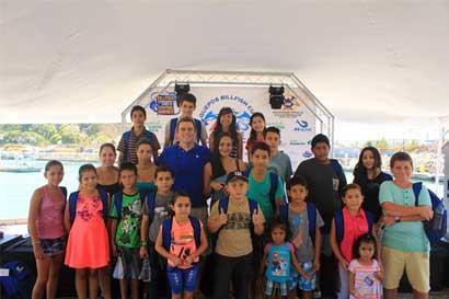 Marina Pez Vela otorgará becas estudiantiles en Quepos