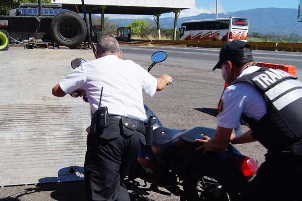 Casi 900 conductores fueron sancionados en Palmares