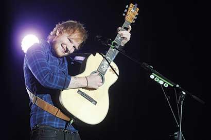 Ed Sheeran hará vibrar el Parque Viva