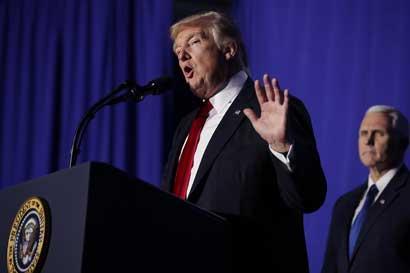 """Trump: """"México se ha aprovechado de EE.UU. por demasiado tiempo"""""""