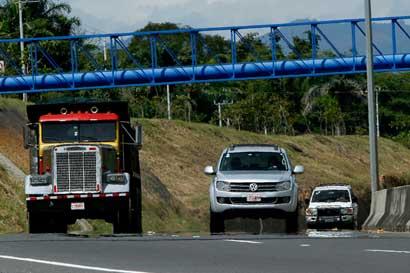 Ruta 27 tendrá reversibilidad hacia San José este domingo