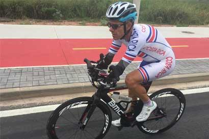 Ciclista paralímpico costarricense es tercero del mundo