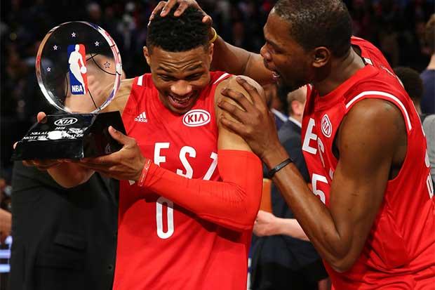 Durant y Westbrook juntos de nuevo