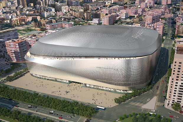 Nuevo Bernabéu tendrá hotel de lujo