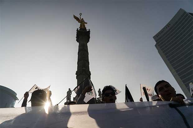 Mexicanos indignados dicen que también están hartos del TLCAN