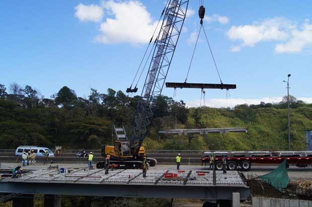 Nuevo puente de la platina se llamará Alfredo González Flores