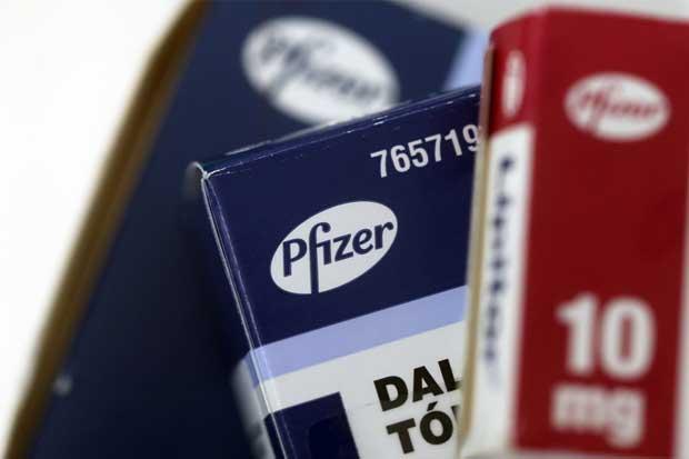 Pfizer reporta ganancias menores a la previstas en 2016