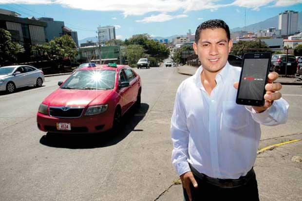 """Taxistas de Costa Rica hará viajes por """"un rojo"""""""