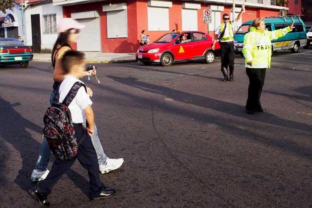 Policía de Tránsito estará en 71 centros educativos el próximo lunes