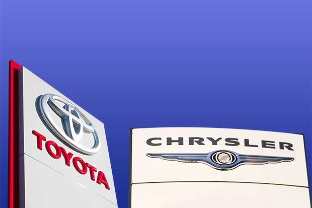 Toyota y Fiat Chrysler encabezan caída en ventas por descuentos