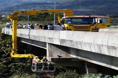 Nuevo equipo del MOPT mejorará inspección de puentes