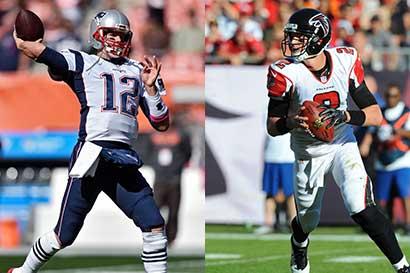 Versatilidad de los Falcons contra colmillo de los Patriots
