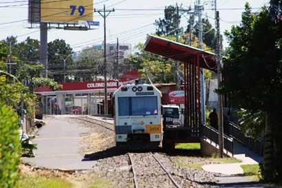 Tren de Alajuela tendrá tres nuevas paradas