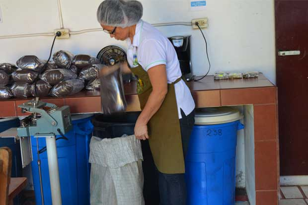 INA fortalece asociación de mujeres cafetaleras