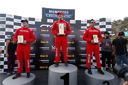 Ganador de Yaris Cup nunca había corrido automóviles