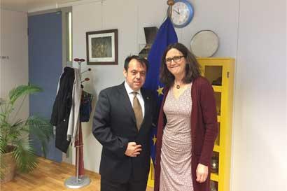 País sostiene reunión con Comisaria de Comercio de la Unión Europea