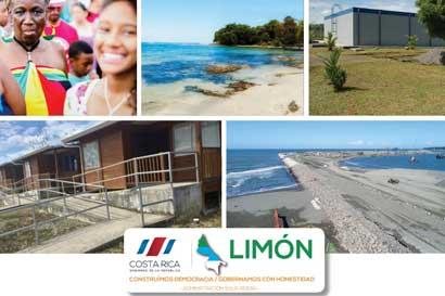 Cantones del Caribe tendrán nuevas obras en vivienda, seguridad y cultura