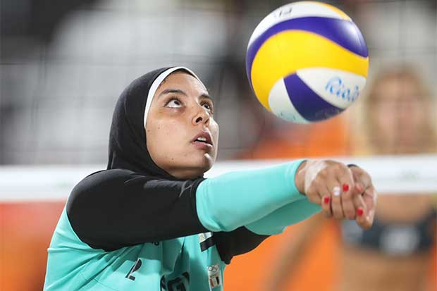 Jugadoras iraníes rompen barreras