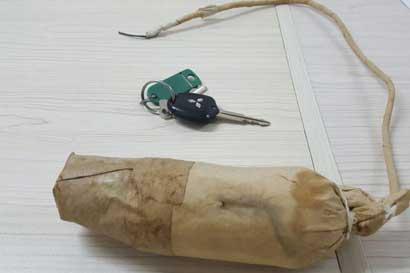 Supuestos explosivos encontrados en la platina no dañarían puente