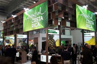 Costa Rica exhibe sus productos en feria agrícola más grande del mundo