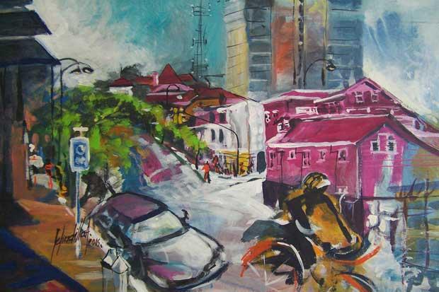 Colores de Barrio Amón se exhibirán en obras del colectivo Plein Air Costa Rica