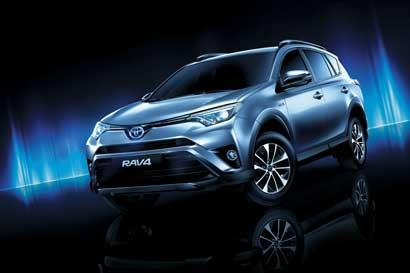 Toyota introduce al país su nuevo RAV4 híbrido eléctrico